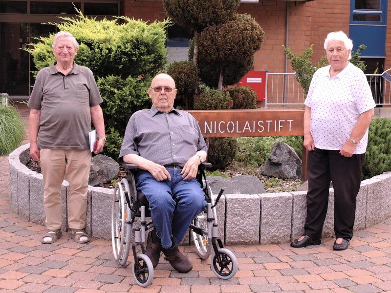 Die 113 Bewohnerinnen und Bewohner des Altenzentrum St. Nicolaistift haben ihre neue Bewohnervertretung gewählt. Die Bewohnervertretung, die die Interessen der Bewohner vertritt und an wichtigen Entscheidungen beteiligt wird besteht aus fünf Bewohnern.
